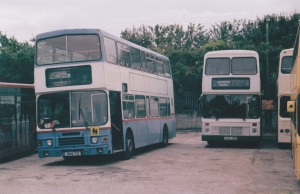 J846TSC(BROWN BASILDON) & G555VBB (SHOREY MAULDEN) BARRY HALL 13-8-12