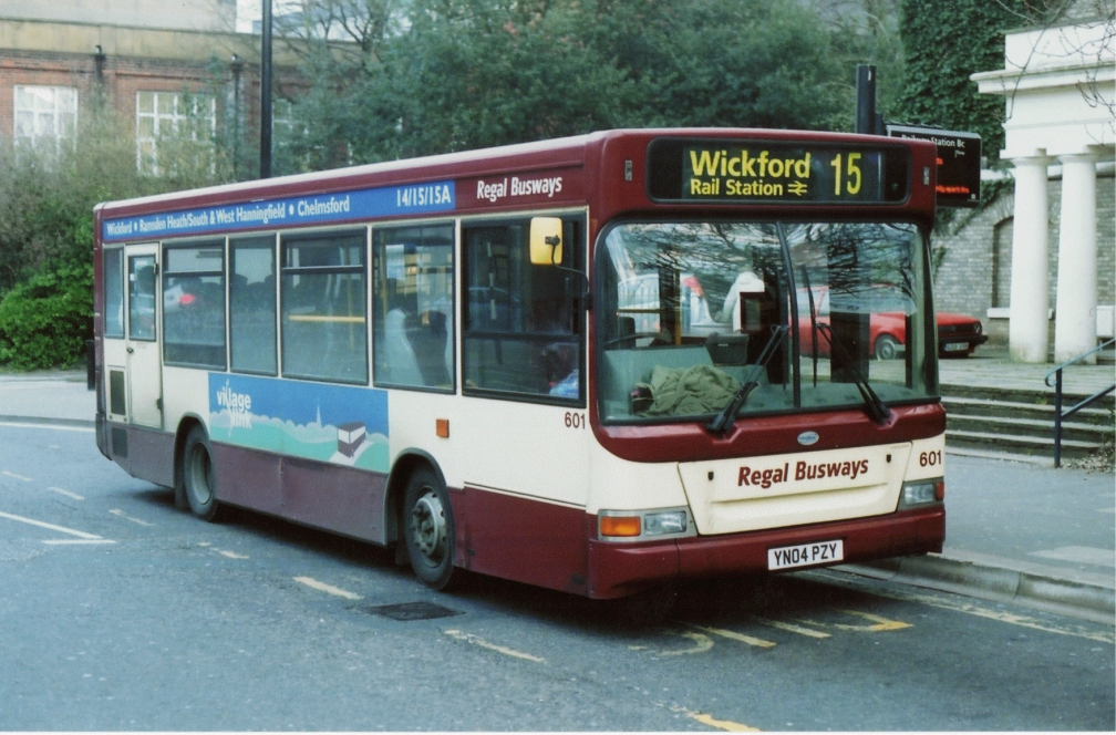YN04PZY 601 REGAL 15 (CF)  2008