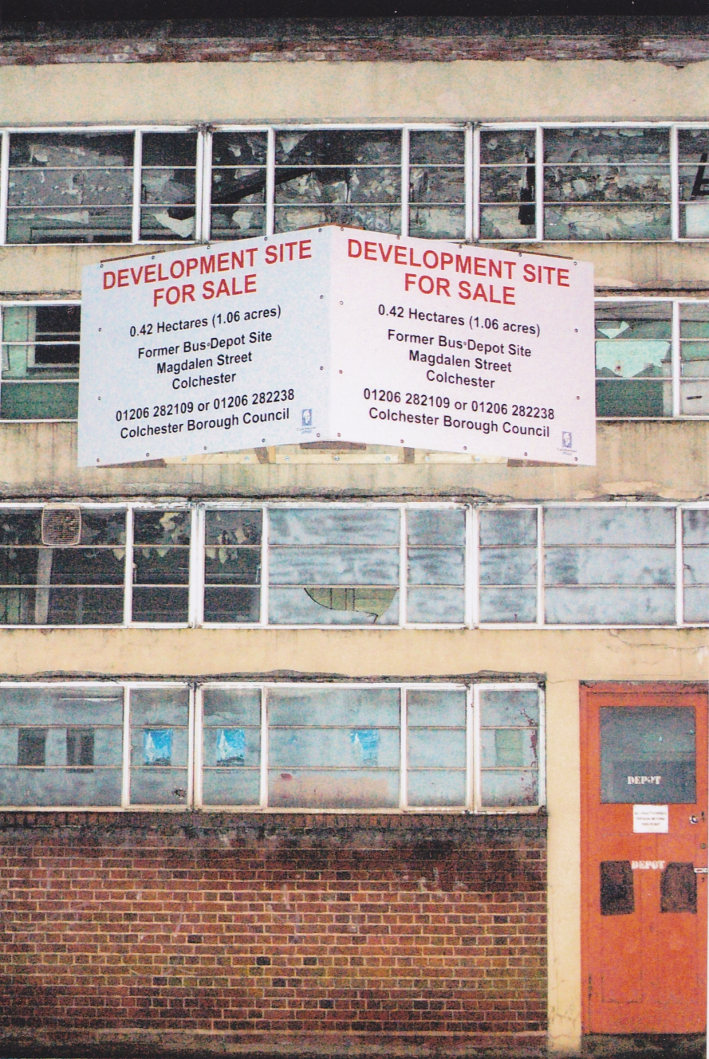 MAGDALEN ST DEPOT FOR SALE 12-2-15