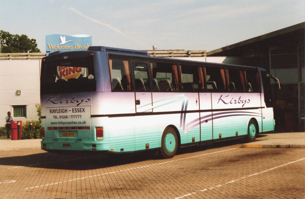 K100BYS (REAR) KIRBY'S (SOUTH MYMMS SERVICES) 7-05