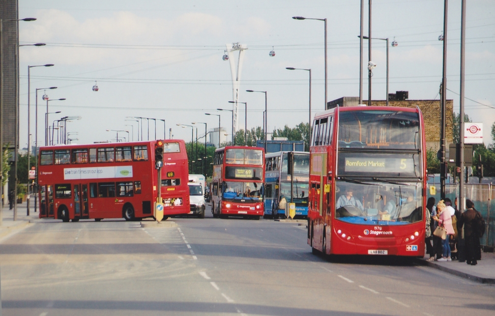 SILVERTOWN WAY - CANNING TOWN BUS STN CLOSURE  21-6-15