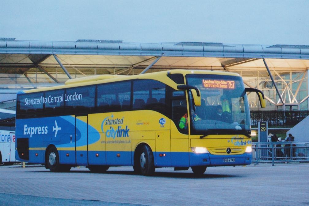 BG65VXB STANSTED CITYLINK ST 17-1-16
