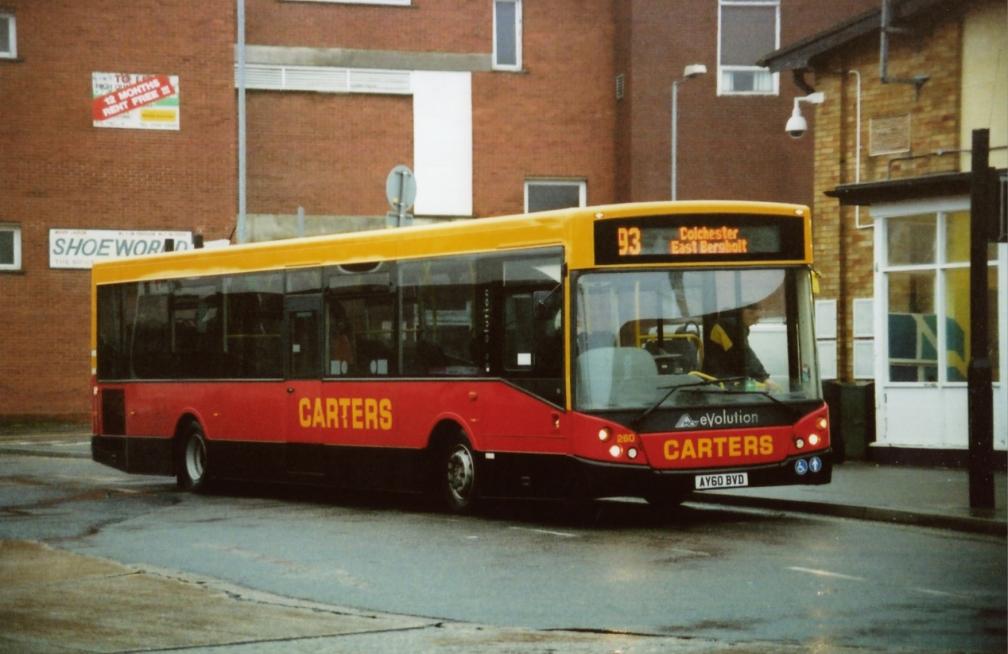 AY60BVD 260 CARTERS 93  2-11