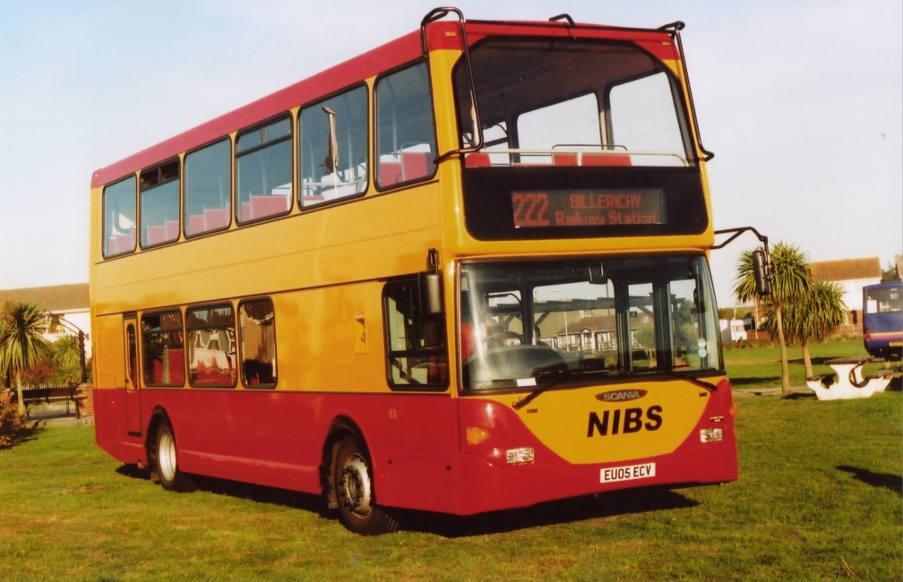 EU05ECV NIBS CANVEY RALLY 10-05