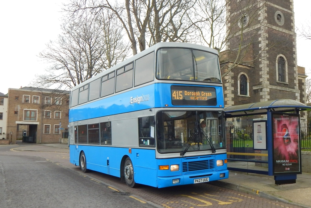 P427UUG 827 ENSIGN-COUNTY CONNECT (GRAVESEND) 25-2-16 (DW RHODES)