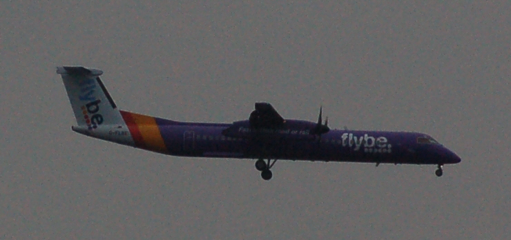 G-FLBE FLYBE (LONDON CITY) 5-4-16