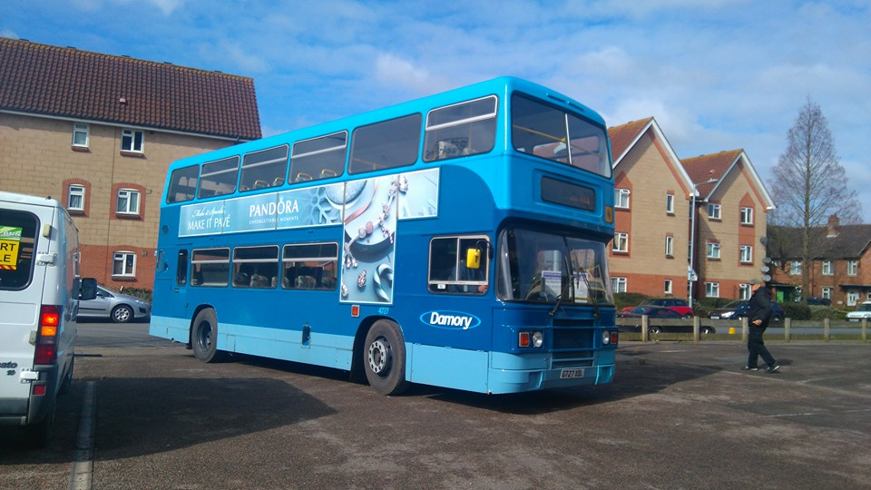 G727XDL DAMORY (IP BUS RALLY) 20-3-16 (S AUSTIN)