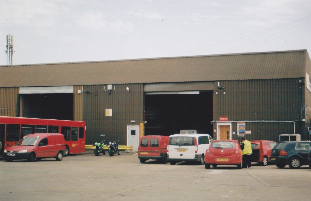 BLUE TRIANGLE RAINHAM GARAGE 6-12
