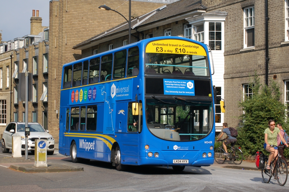 LK04HYX WD438 WHIPPET U CAMBRIDGE 23-7-16