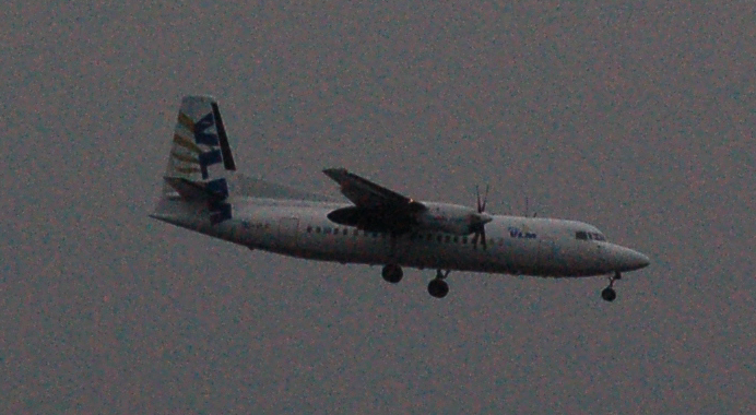 VLM FOKKER 50 (LONDON CITY) 5-4-16
