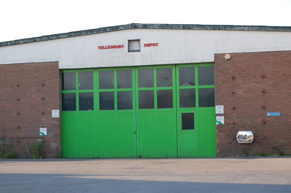 HO TOLLESBURY DEPOT CLOSED 22-7-16