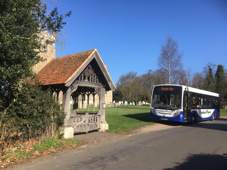AB62PAN ST GEORGES CHURCH GT BROMLEY 15-3-17 (S BARHAM)