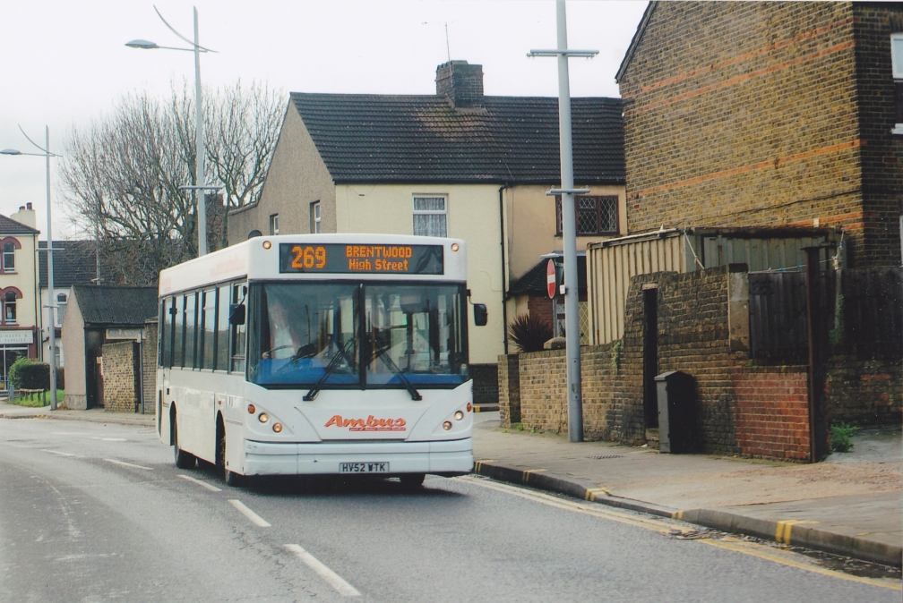 HV52WTK AMBUS 269 (GRAYS) 1-12-15