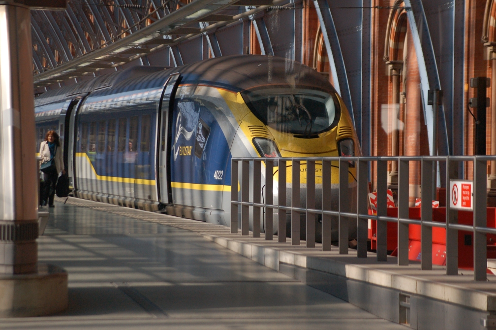 374022 EUROSTAR (ST PANCRAS INTERNATIONAL) 7-4-18