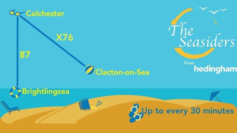 HEDINGHAM SEASIDERS POSTER 5-17