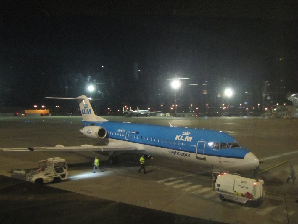 PH-KZR KLM CITYHOPPER FOKKER 70 (BASLE) 16-8-16