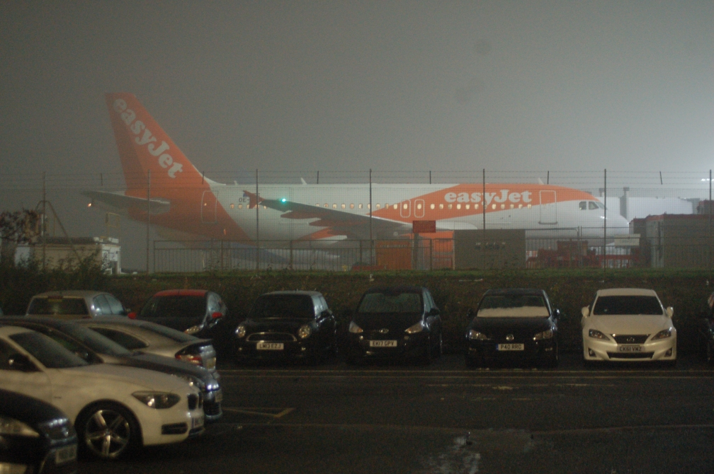 OE-LQN A320 EASYJET (STANSTED) 21-1-18