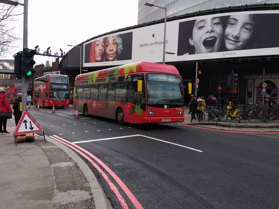 LJ67 HTG BH63102 TT RV1 (LONDON BRIDGE) 13-3-18 (S AUSTIN)
