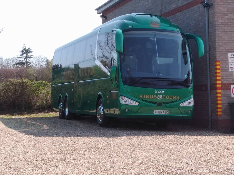 KC65ABC KINGS TOURS (STANWAY DEPOT) 20-4-18 (S AUSTIN)