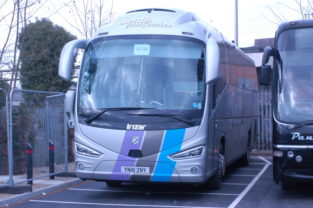 YN18ZNY SOUTH EAST COACHES (GA RRP WITHAM) 25-3-18