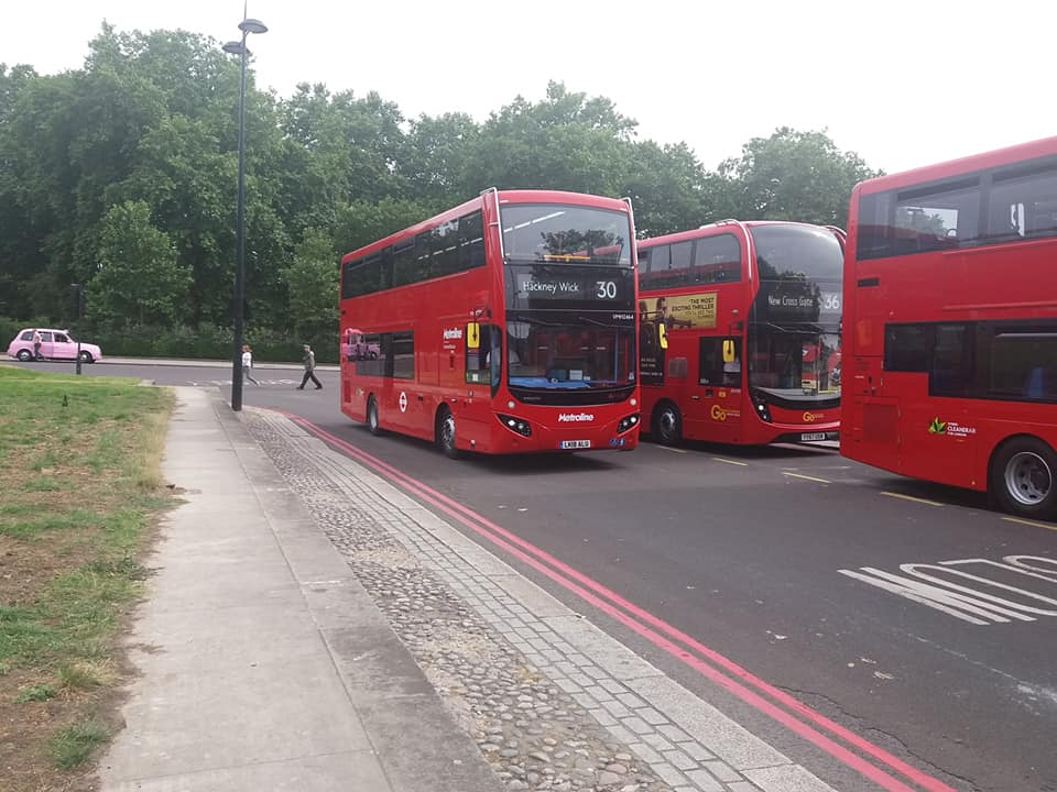 LK18ANF VMH2469 ML 30 (MARBLE ARCH) FIRST DAY ML 23-6-18 (S AUSTIN)