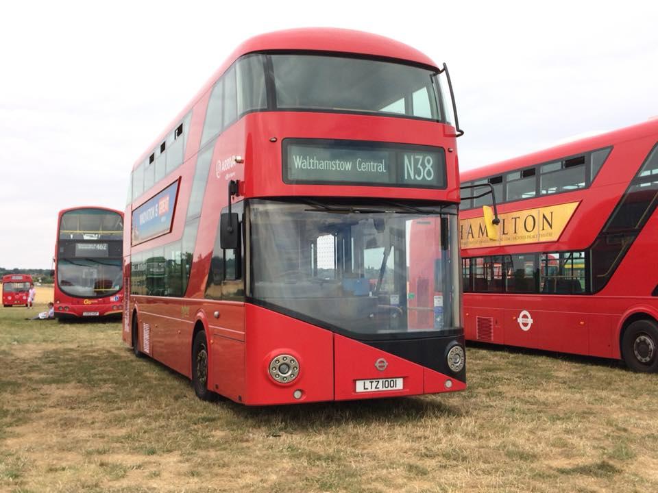 LTZ1001 LT1 AR LON N N38 (BASILDON BUS RALLY) 22-7-18 (D PRETTY)