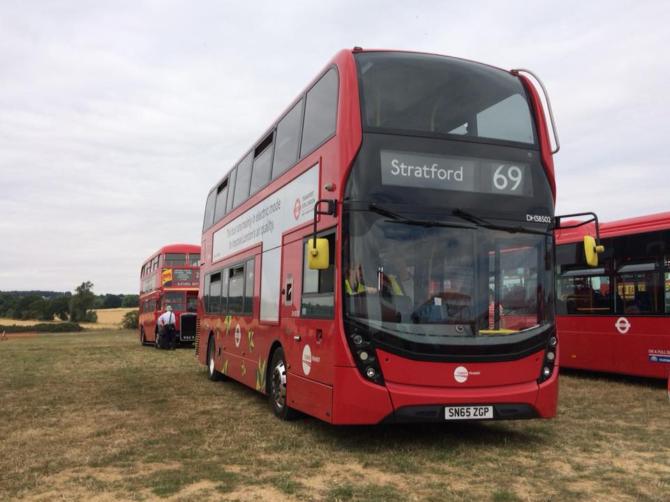 SN65ZGP DH34502 TT 69 (BASILDON BUS RALLY) 22-7-18 (D PRETTY)