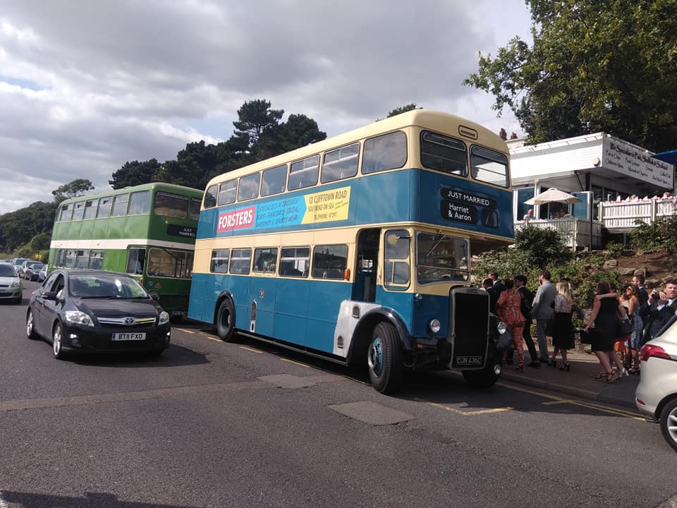 CJN436C 436 SOUTHEND TRANSPORT PRESERVED (SD SEAFRONT) 17-8-18 (S AUSTIN)
