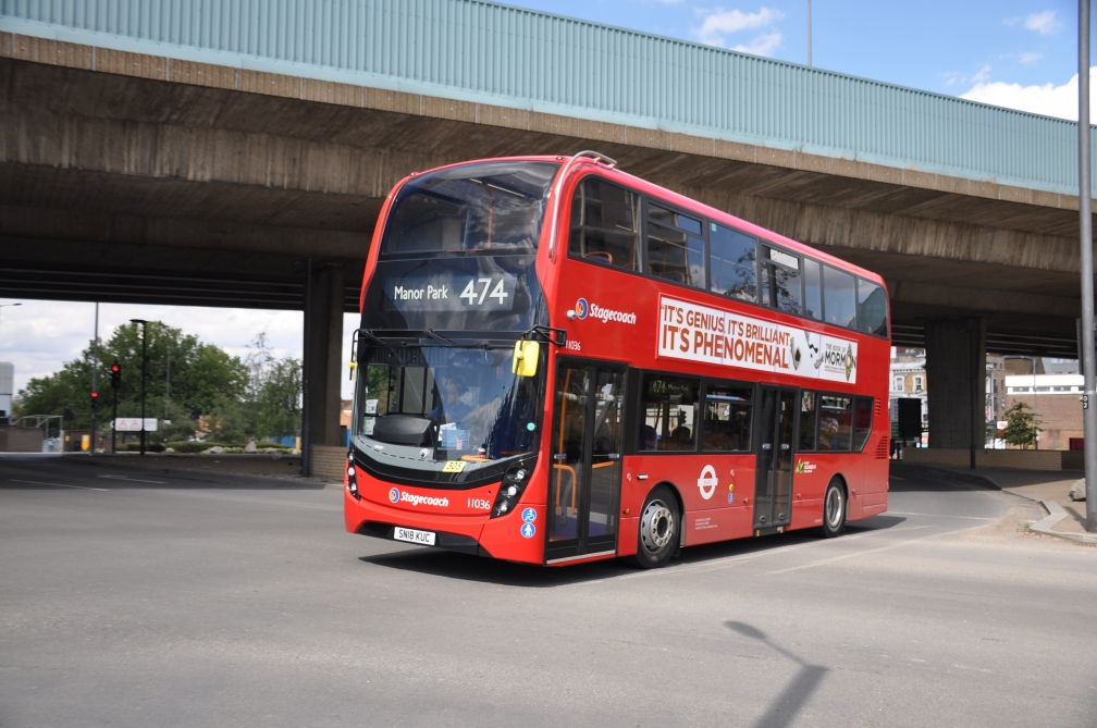 SN18KUC 11036 ST EL 474 (CANNING TOWN) 7-18 (T SMETHERS)