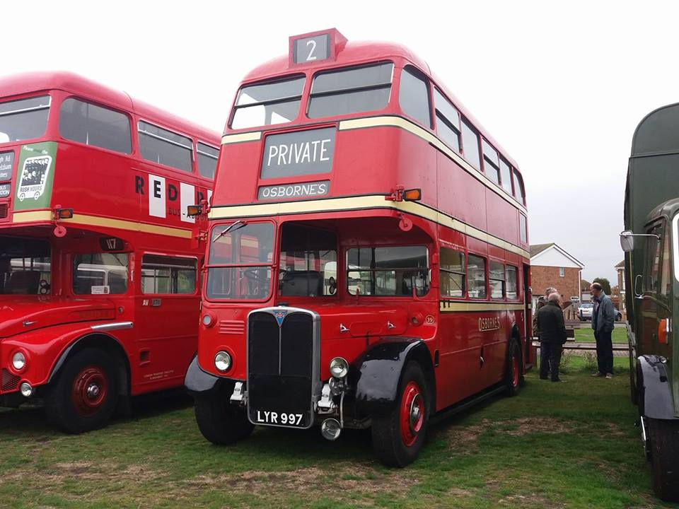 LYR997 OSBORNES (CANVEY RALLY) 14-10-18 (S AUSTIN)