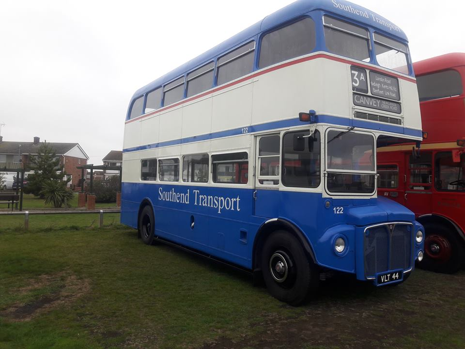 VLT44 122 SOUTHEND TRANSPORT (CANVEY RALLY) 14-10-18 (L KINSELLA ILOT)