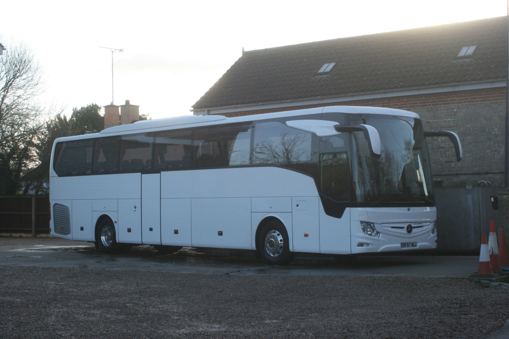 BF67WLL KINGS (ON HIRE FROM EVOBUS) 11-12-18