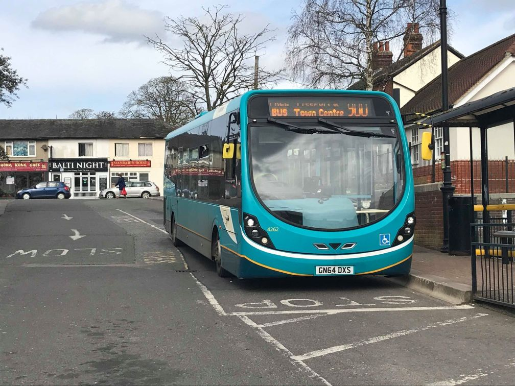 GN64DXS 4262 AR CR 900 (BE BUS PARK) 23-3-19 (D PRETTY)