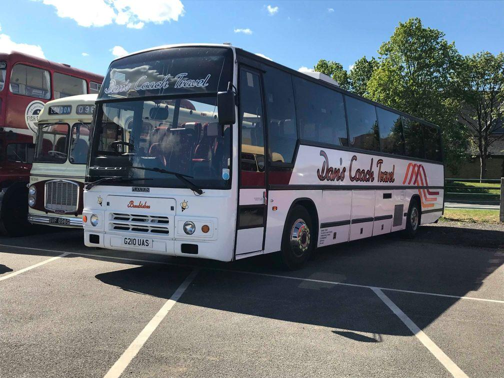 G210UAS DAN'S COACH TRAVEL (DEREHAM RALLY) 12-5-19 (D PRETTY)