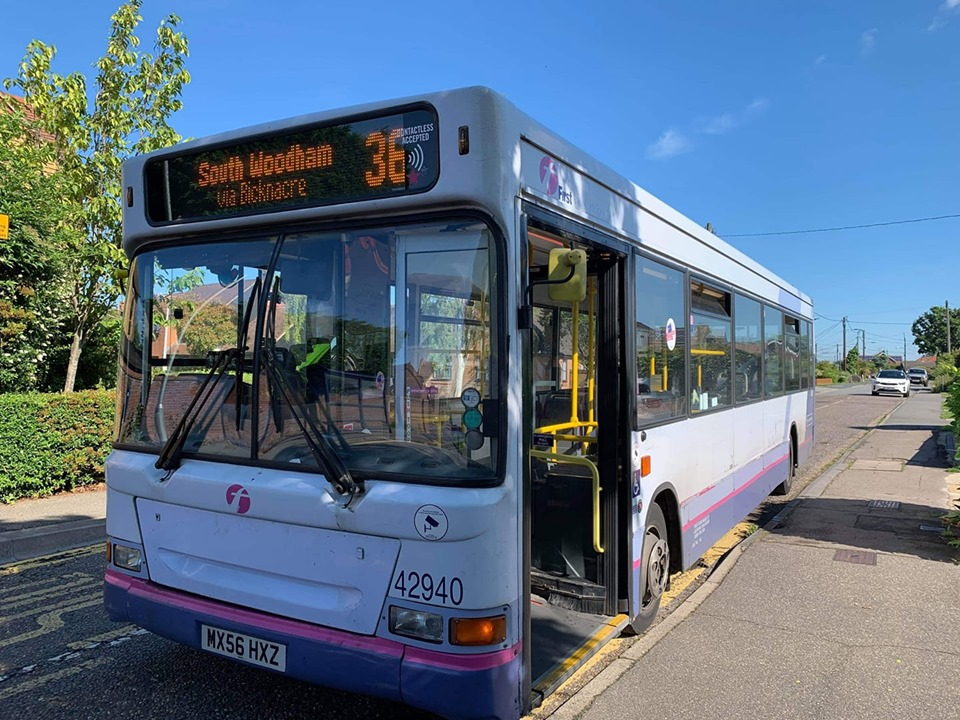 WX56HXZ 42940 FE 36 (SOUTH WOODHAM) 20-6-19 (S MILTON)