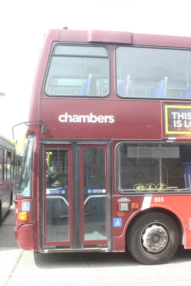 YN55PZG 805 CHAMBERS CONTACTLESS (HO KN) 11-8-19
