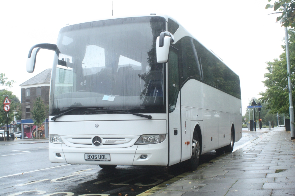 BX15UOL AJK COACHES ILFORD (CR) 24-9-19