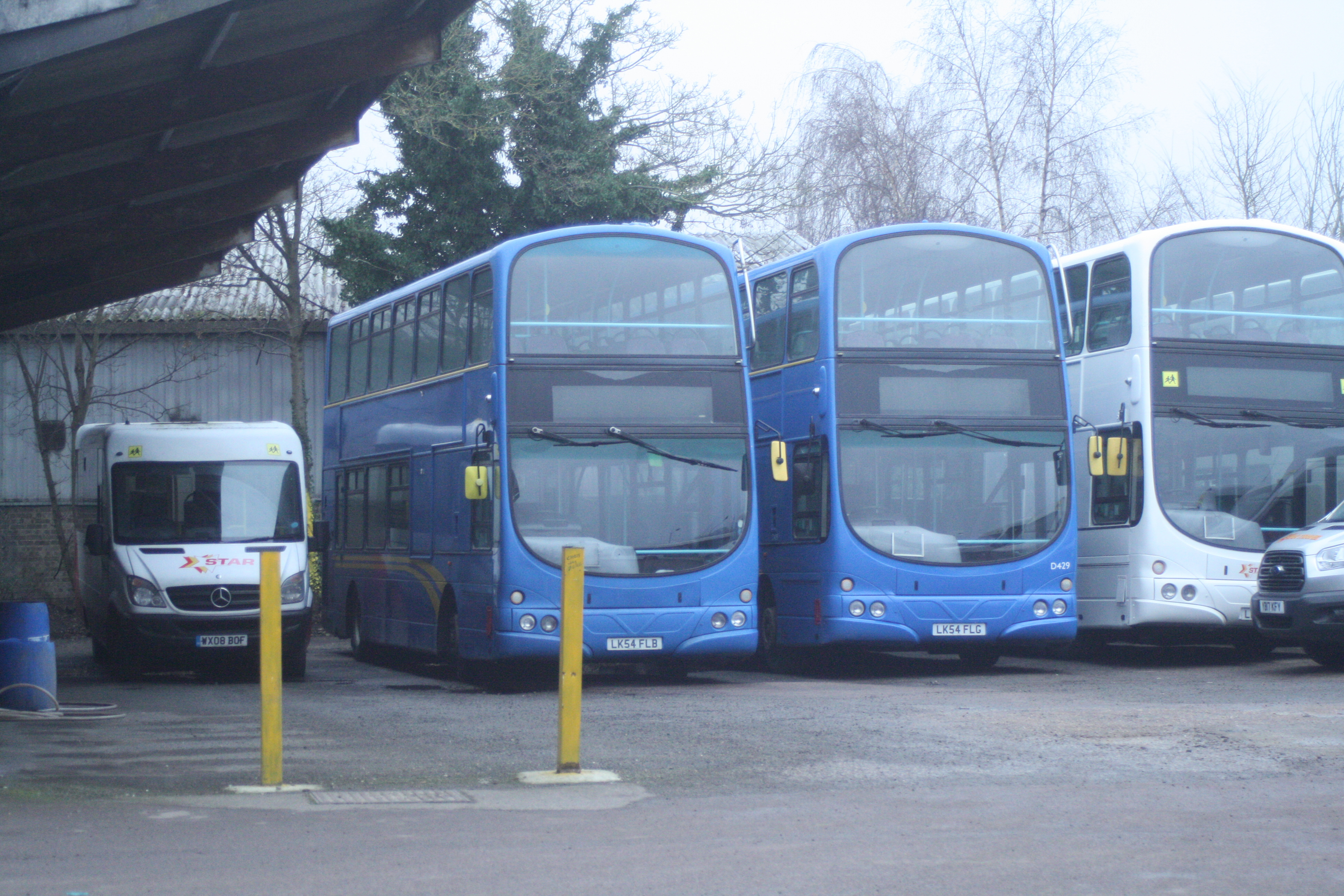 LK54FLB, FLG STAR BUS, HAVERHILL 25-1-20
