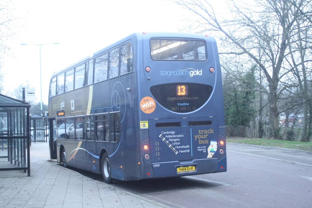 YN14OXK 15959 (REAR) ST CAMBUS GOLD (HAVERHILL) 25-1-20