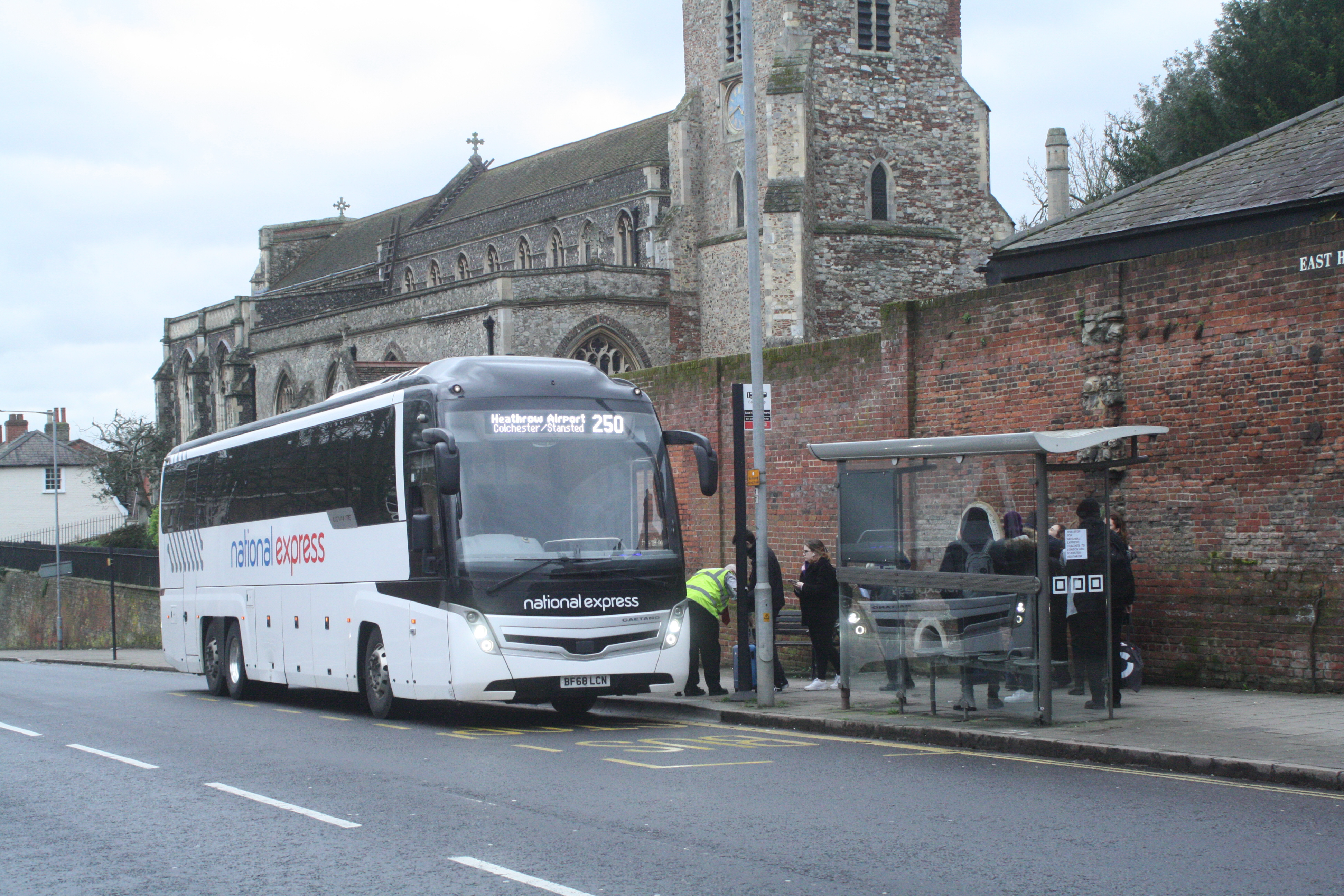 BF68LCN NX-GALLOWAY (NEW CR COACH STOP EAST HILL) 24-2-20