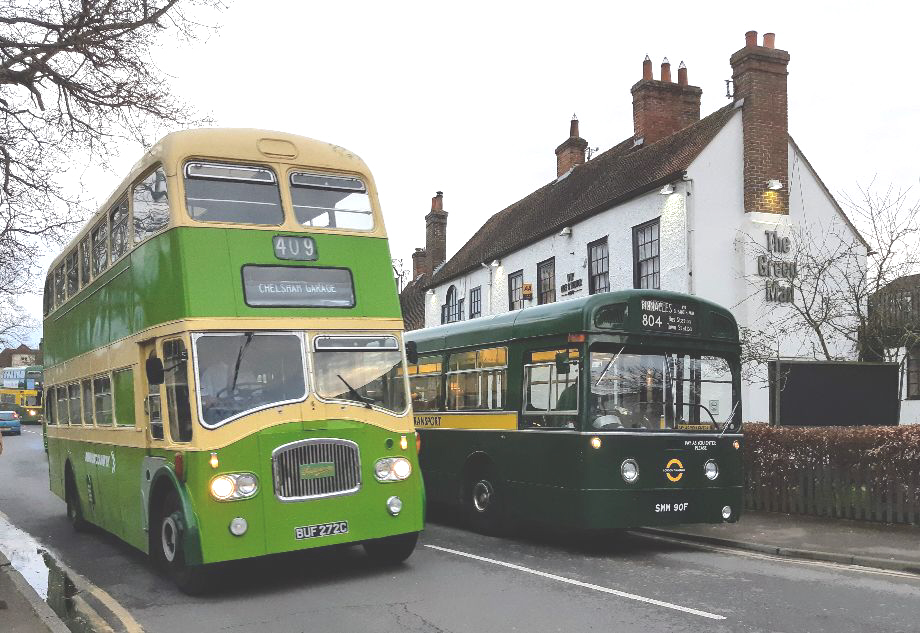 BUF272C PD3 and SMM90F MB 90 at Green man pub 23-2-20 (L COCKER)