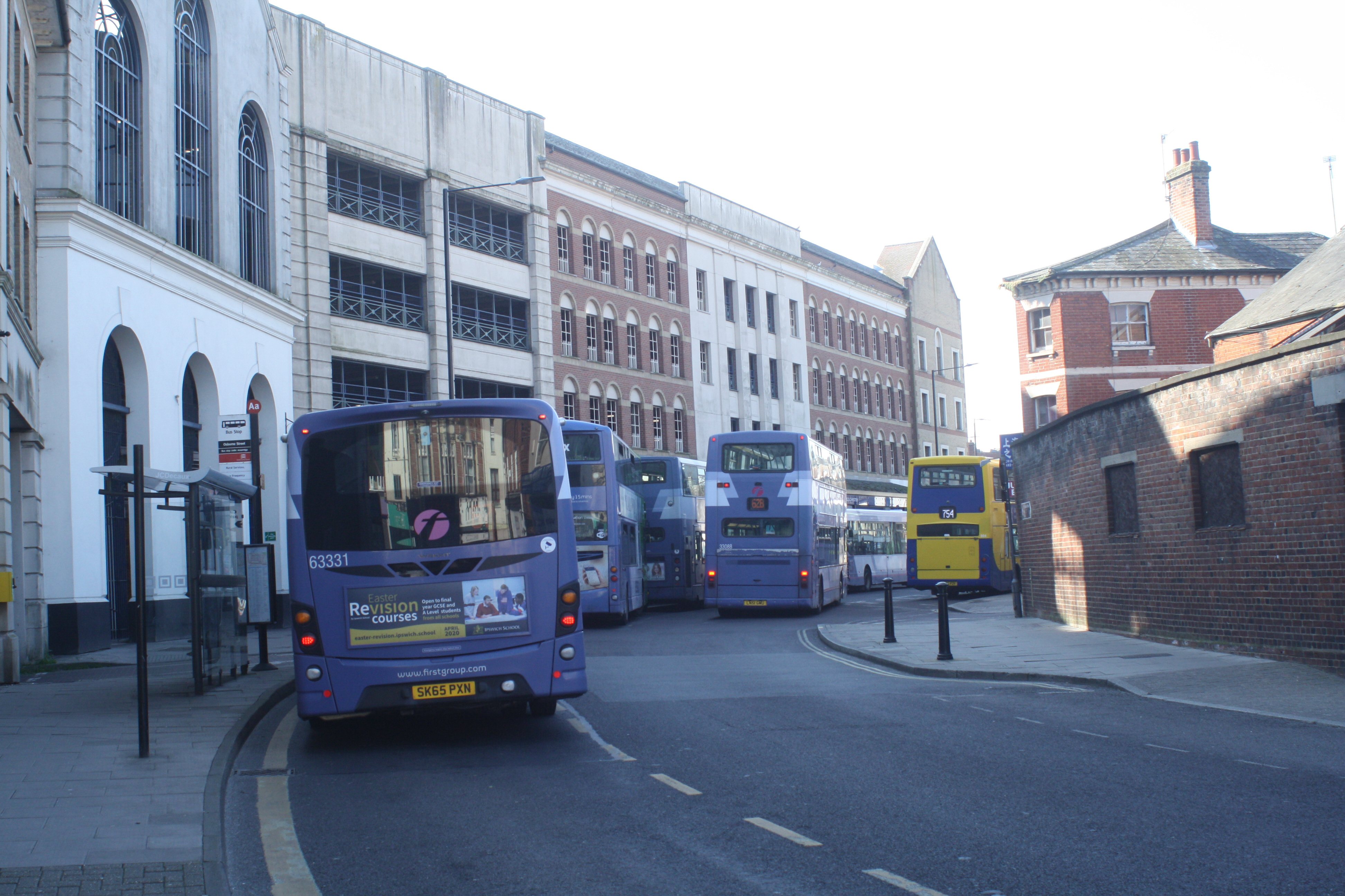 COLCHESTER BUS STATION 27-3-20