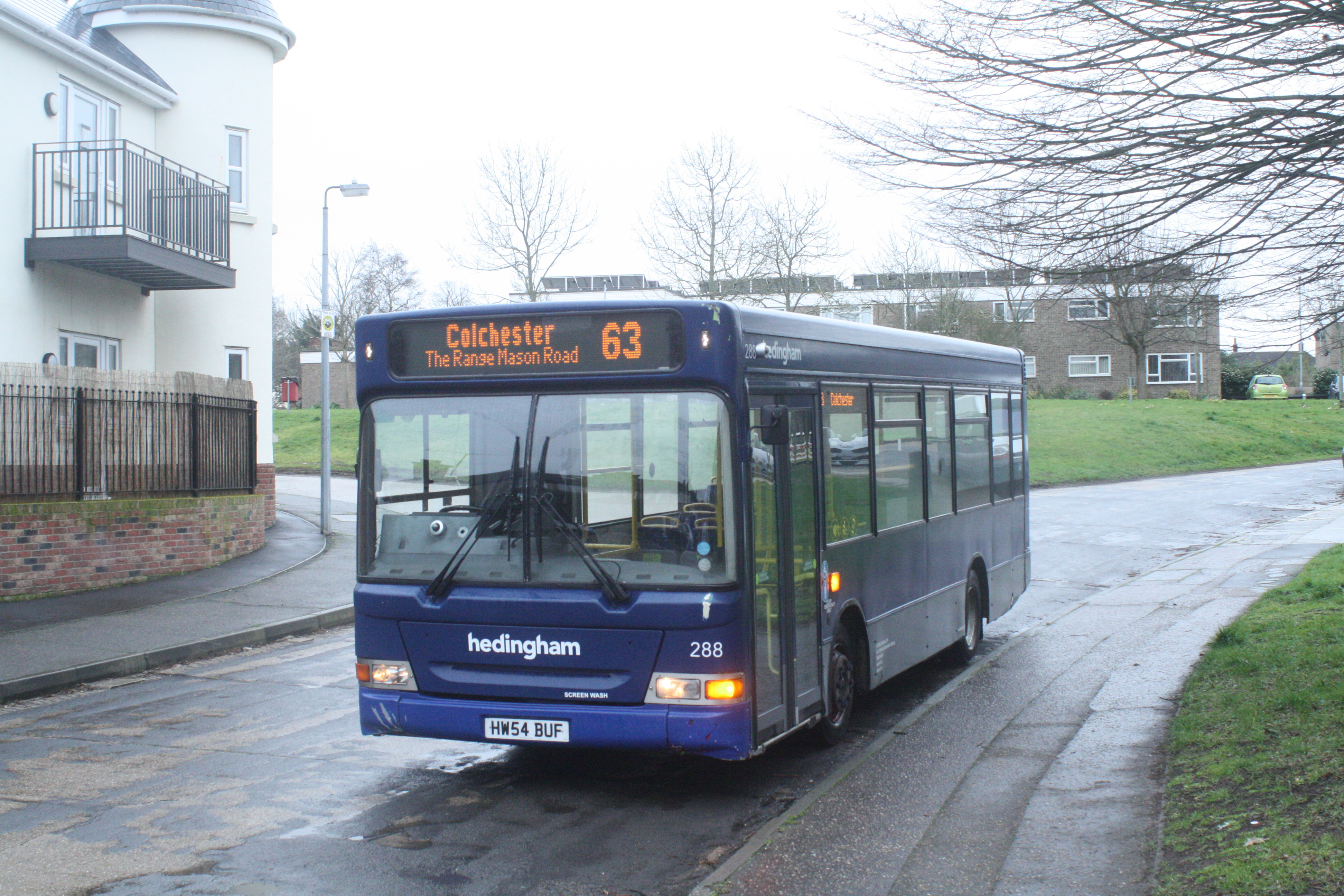 HW54BUF 288 HO 63 DIVERSION KING GEORGE RD CR) 19-2-20