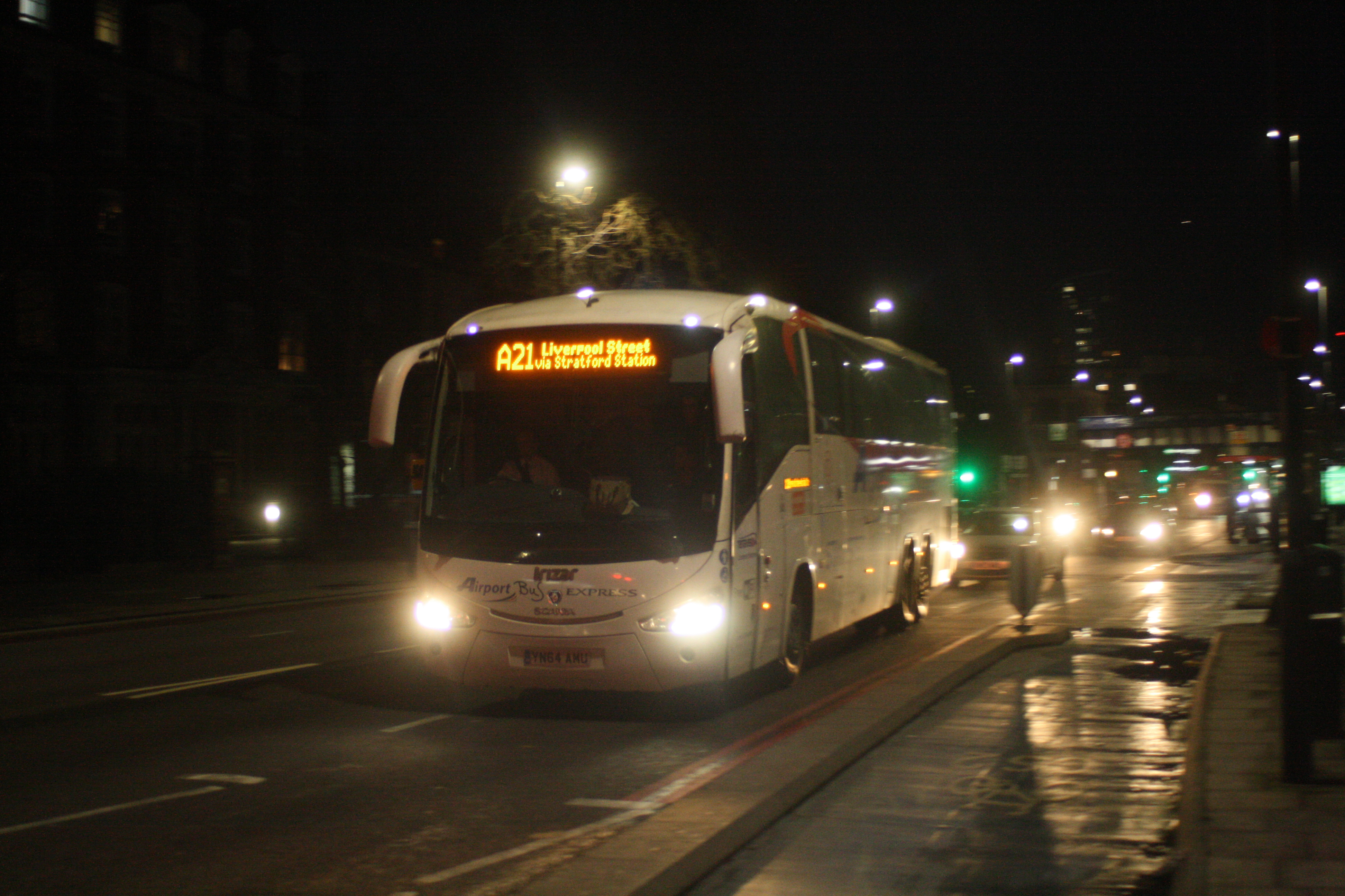 YN64AMU AIRPORT BUS EXPRESS (BOW ROAD) 29-2-20