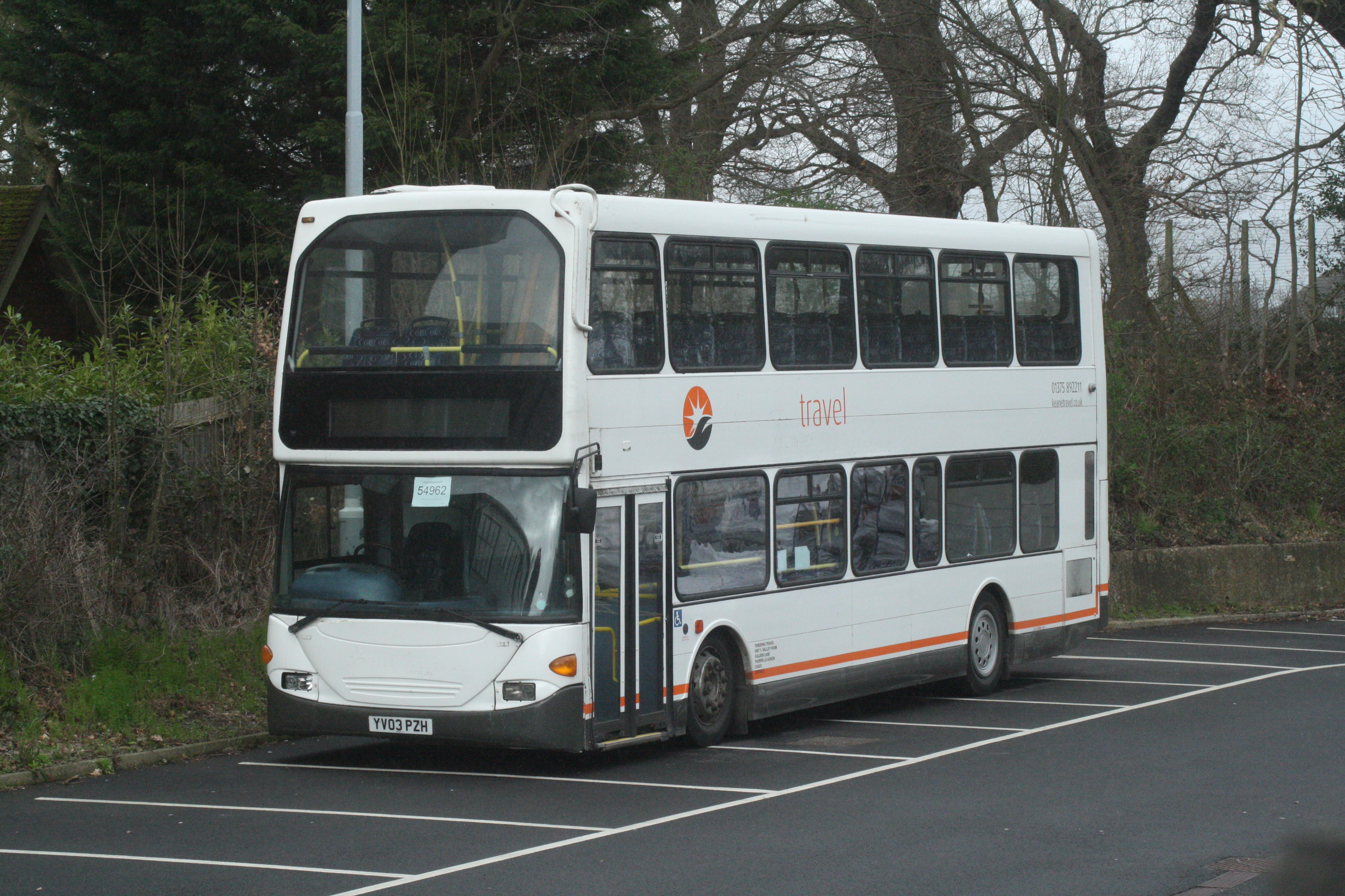YV03PZH TENDING TRAVEL (GA RRP INGATESTONE) 14-3-20