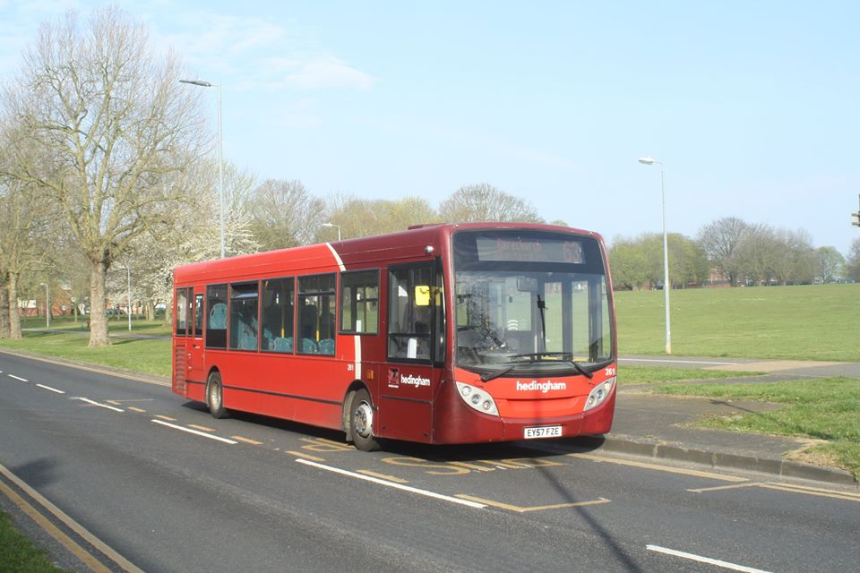EY57FZE 261 HO 63 (ABBEY FIELD, CR) 8-4-20