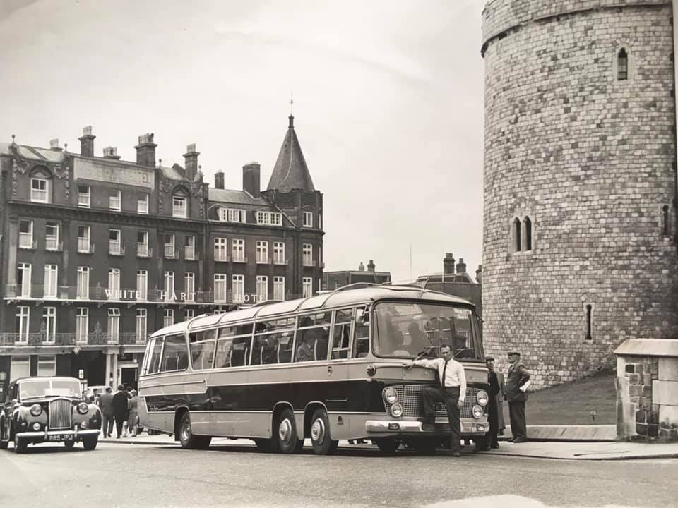 UTK301 C&R (WINDSOR CASTLE) 1966 (D OSBORNE COLLECTION)