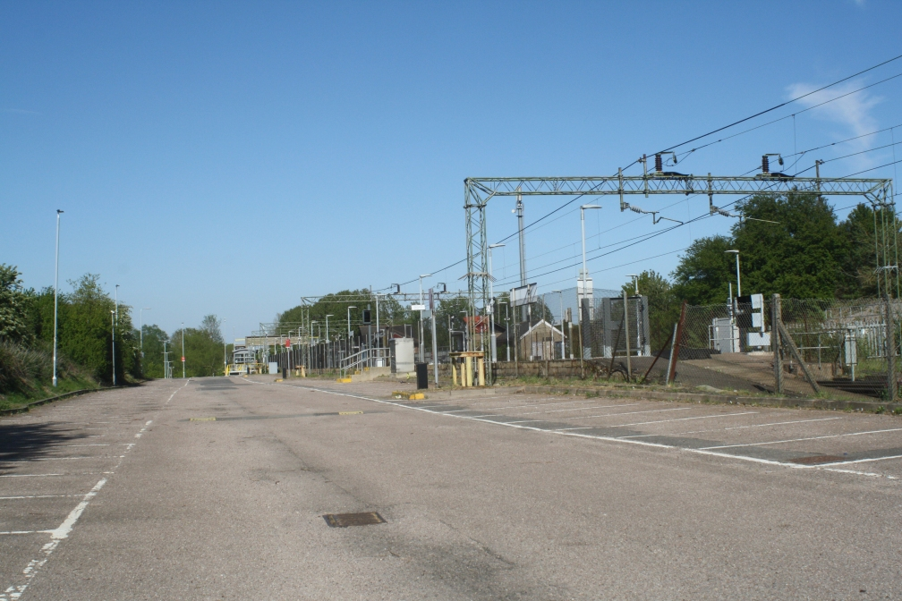 KELVEDON RAIL STATION CAR PARK 26-4-20