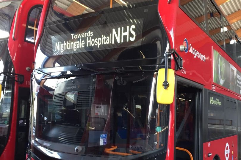 STAGECOACH EAST LONDON Nightingale-Hospital-bus (Stagecoach)