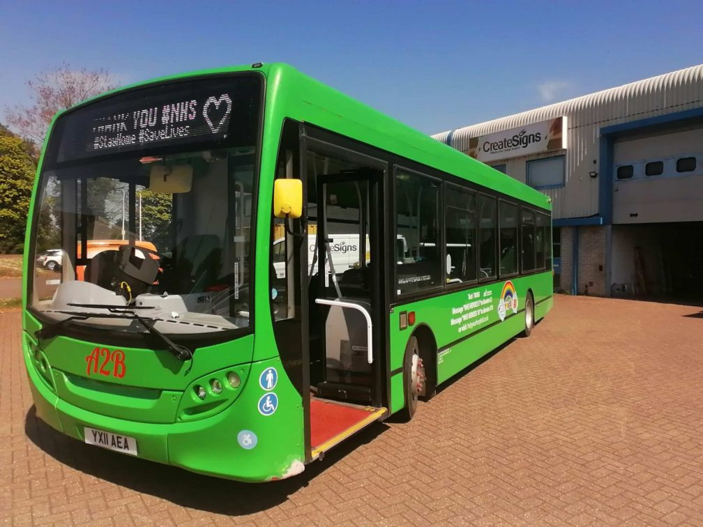 YX11AEA A2B NHS BRANDED 4-20 (ROUTEONE)